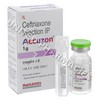 Accuzon Injection (Ceftriaxone) - 1g