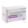 Carloc (Carvedilol) - 6.25mg (10 Tablets)