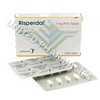 Risperdal (Risperidone) - 1mg (20 Tablets)(Turkey)