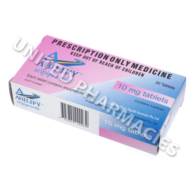 Abilify (Aripiprazole) - 10mg (30 Tablets)