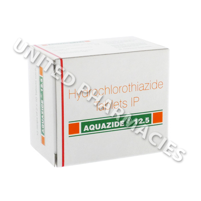 Aquazide (Hydrochlorothiazide) - 12.5mg (10 Tablets)