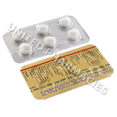 Azee 250 (Azithromycin) - 250mg (6 Tablets)