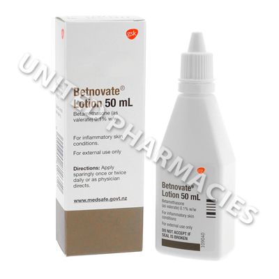 Betnovate Lotion (Betamethasone Valerate) - 0.1% (50mL)