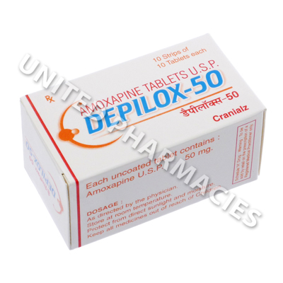 Depilox-50 (Amoxapine) - 50mg (10 Tablets)
