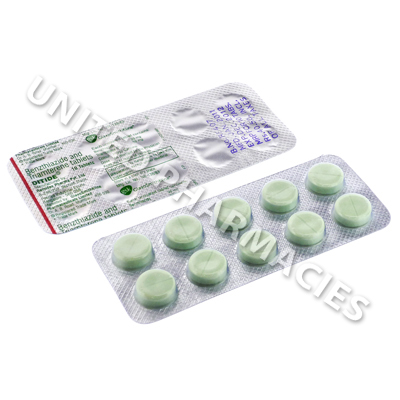 Ditide (Benzthiazide/Triamterene) - 25mg/50mg (10 Tablets)
