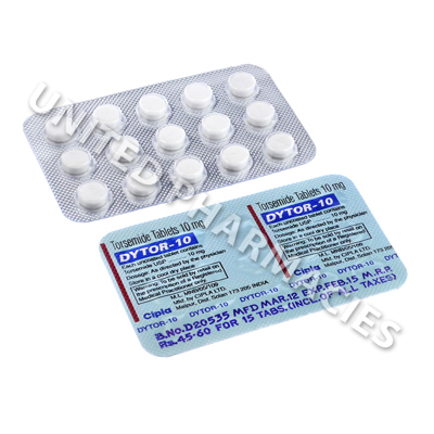 Dytor (Torsemide) - 10mg (15 Tablets)