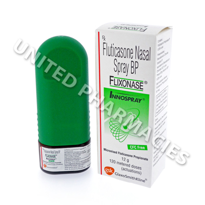Flixonase Nasal Spray (Fluticasone Propionate) - 50mcg (120 Doses)(India)