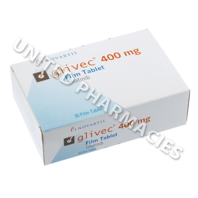 Glivec (Imatinib Mesylate) - 400mg (30 Tablets)
