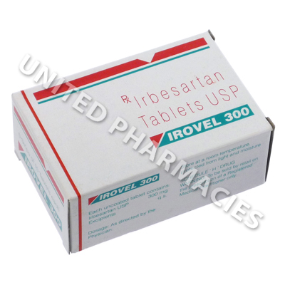Irovel 300 (Irbesartan) - 300mg (10 Tablets)