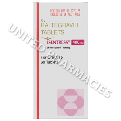 Isentress (Raltegravir) - 400mg (60 Tablets)