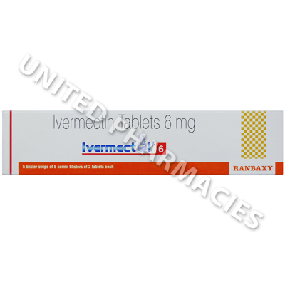 Ivermectol (Ivermectin) - 6mg (50 Tablets)