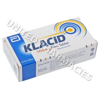 Klacid (Clarithromycine) - 500mg (14 Tablets)(Turkey)