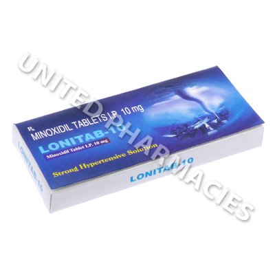 Lonitab (Minoxidil) - 10mg (10 Tablets)