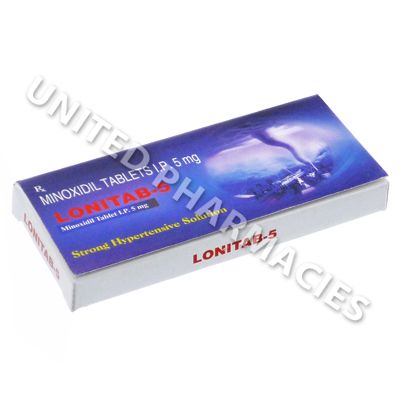 Lonitab (Minoxidil) - 5mg (10 Tablets)