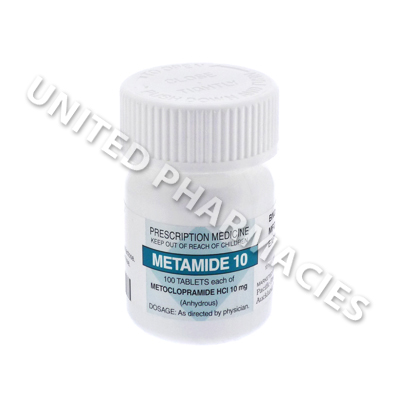 Metamide (Metoclopramide Hydrochloride) - 10mg (100 Tablets)