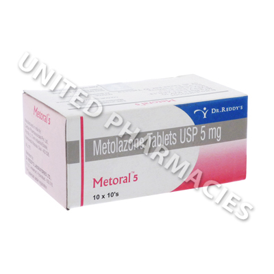 Metoral (Metolazone) - 5mg (10 Tablets)