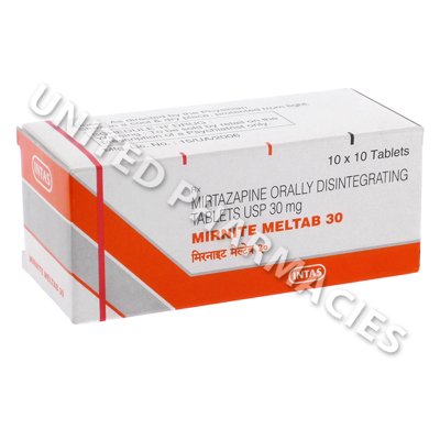 Mirnite Meltab 30 (Mirtazapine) - 30mg (10 Tablets)