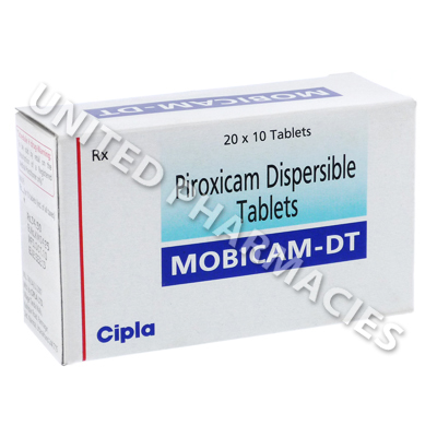 Mobicam-DT (Piroxicam IP) - 20mg (10 Tablets)