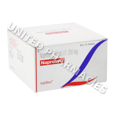 Generic Naprosyn (Naproxen) - 250mg (15 Tablets)