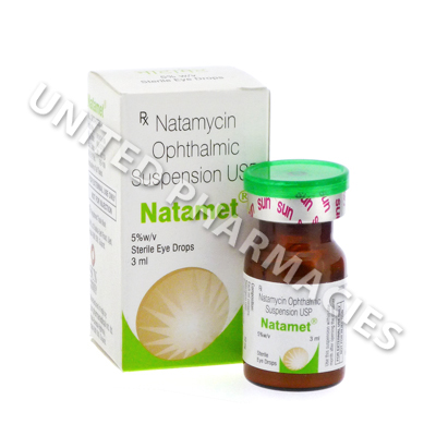 Natamet Eye Drops (Natamycin USP) - 50mg (3ml)