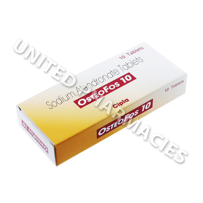 Osteofos (Sodium Alendronate) - 10mg (10 Tablets)