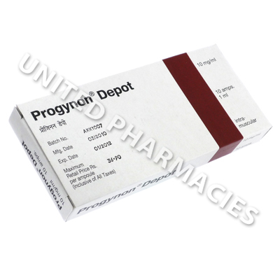 Progynon Depot (Estradiol Valerate) - 10mg/ml (10 Amps)