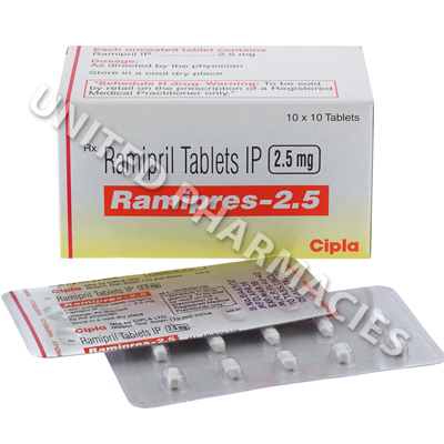 Ramipres (Ramipril) - 2.5mg (10 Tablets)