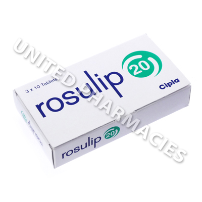 Rosulip (Rosuvastatin) - 20mg (10 Tablets)