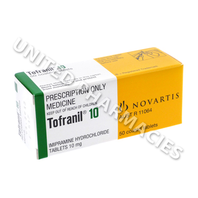 Tofranil (Imioramine) - 10mg (50 Tablets)