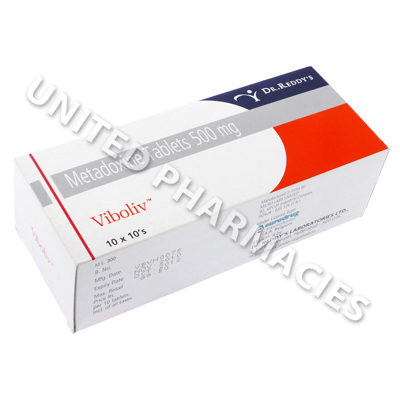 Viboliv 500 (Metadoxine) - 500 mg (10 Tablets)
