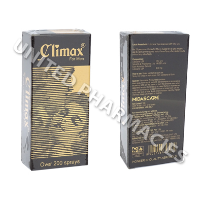 Climax Spray (Lignocaine) - 1.2g