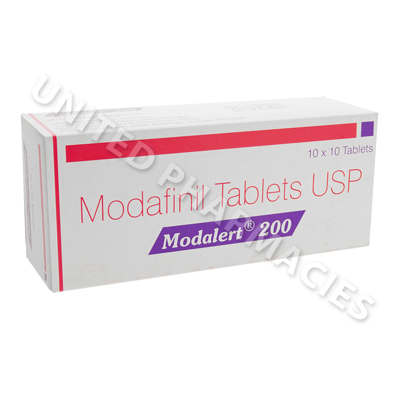 Modalert (Modafinil) - 200mg (10 Tablets)1