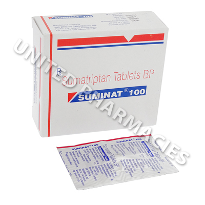 Suminat (Sumatriptan Succinate) - 100mg (1 Tablet)